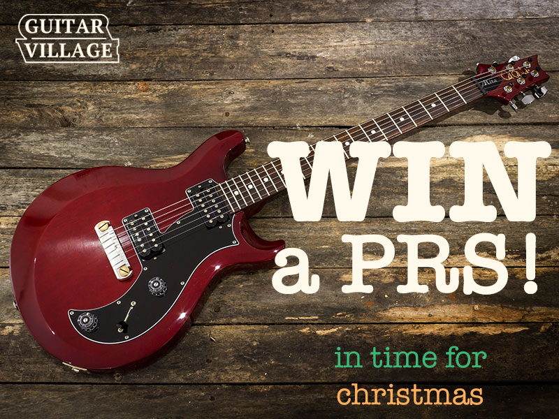 WIN A PRS FOR CHRISTMAS image