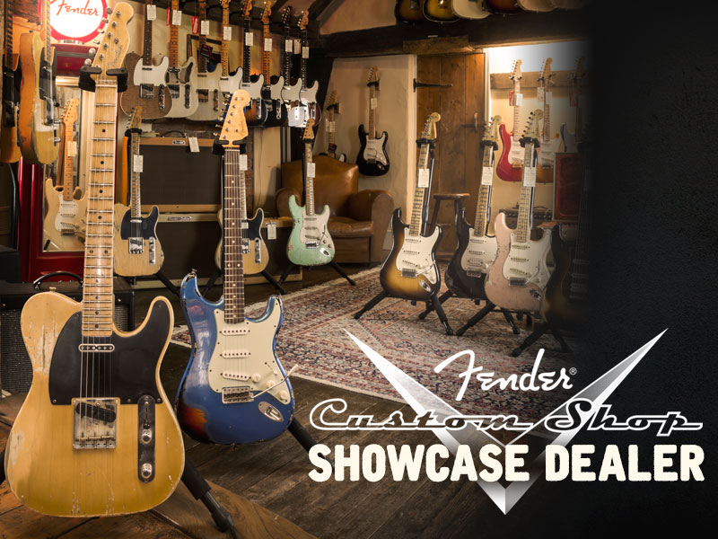 Fender Custom Shop Showcase Dealer image