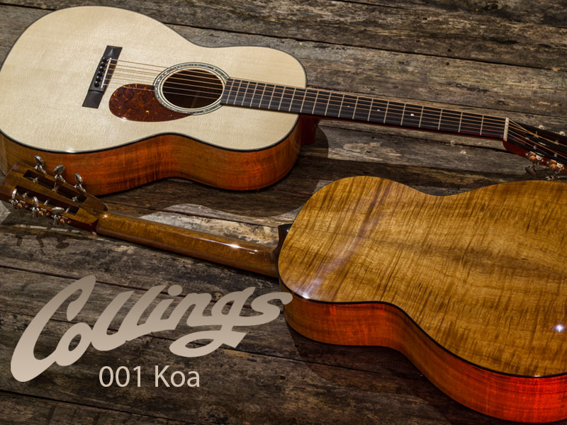 GUITAR OF THE MONTH: COLLINGS 001 KOA image