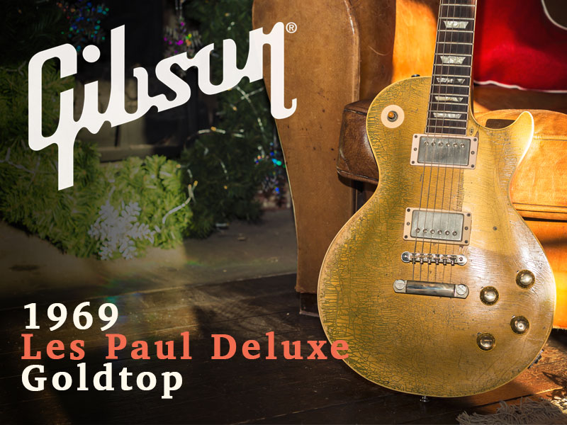 GUITAR OF THE MONTH: 1969 GIBSON LES PAUL DELUXE GOLDTOP image