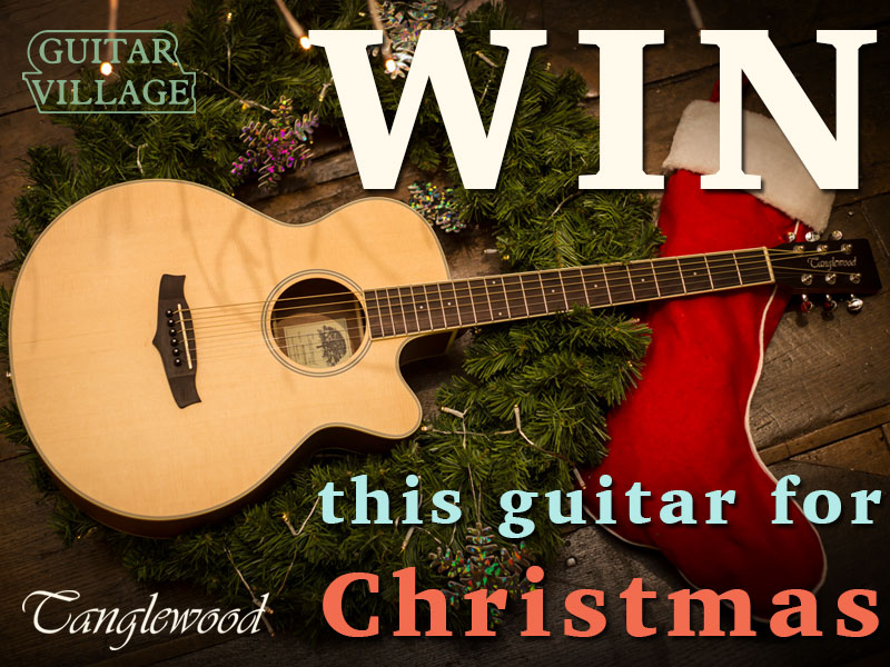 Win a Tanglewood acoustic guitar in time for Christmas! image