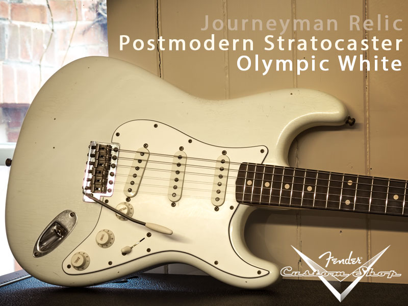 GUITAR OF THE MONTH: FENDER JOURNEYMAN POSTMODERN STRATOCASTER image