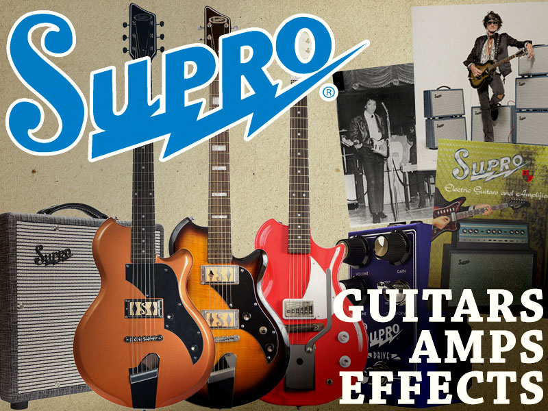 Supro: Iconic Amps, Guitars and Effects image