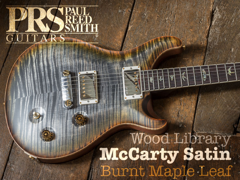 GUITAR OF THE MONTH: PRS WOOD LIBRARY MCCARTY SATIN image