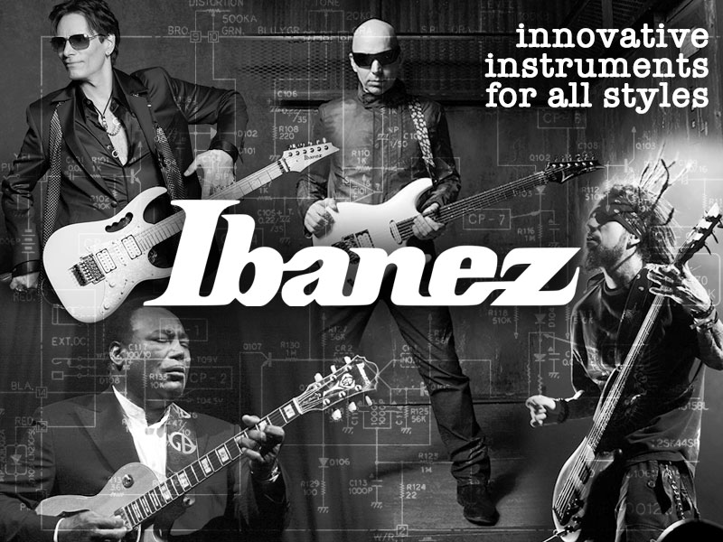 Ibanez: Innovative Instruments for All Styles image