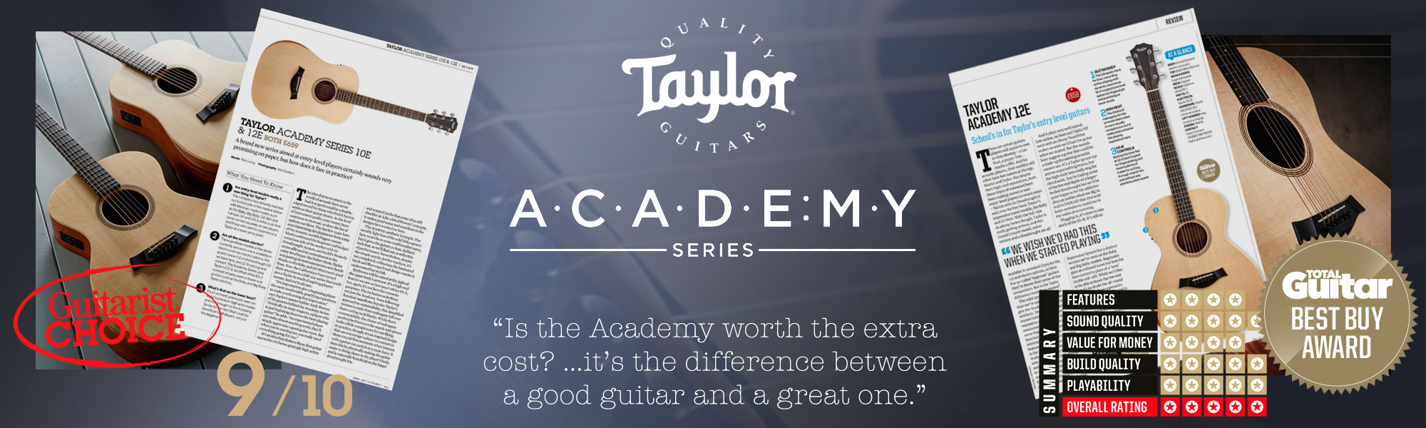 Taylor academy banner