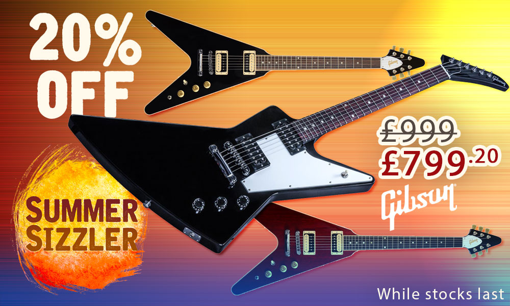 Gibson explorer flying v