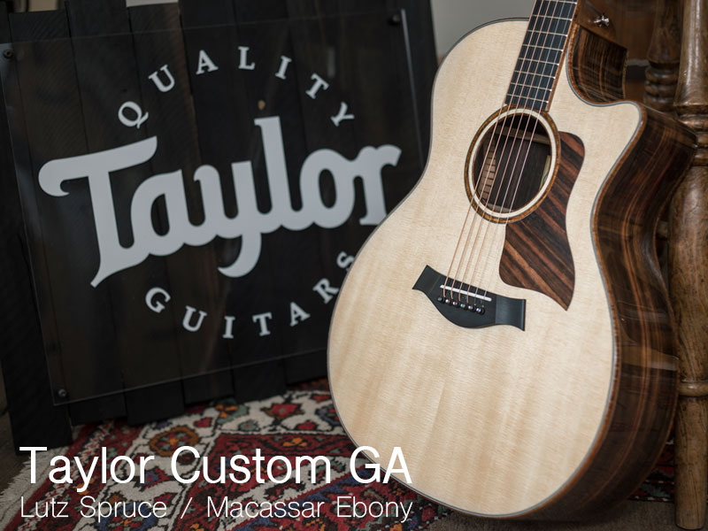 GUITAR OF THE MONTH: TAYLOR CUSTOM GA image