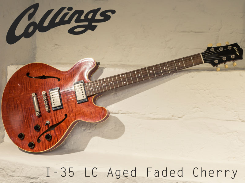 GUITAR OF THE MONTH: Collings I-35 LC Aged Faded Cherry image