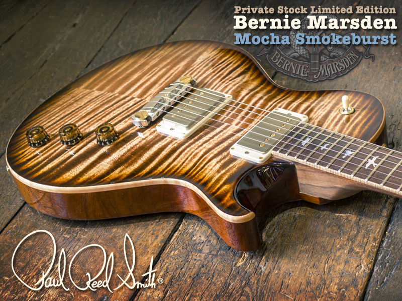 GUITAR OF THE MONTH: PRS PRIVATE STOCK BERNIE MARSDEN image