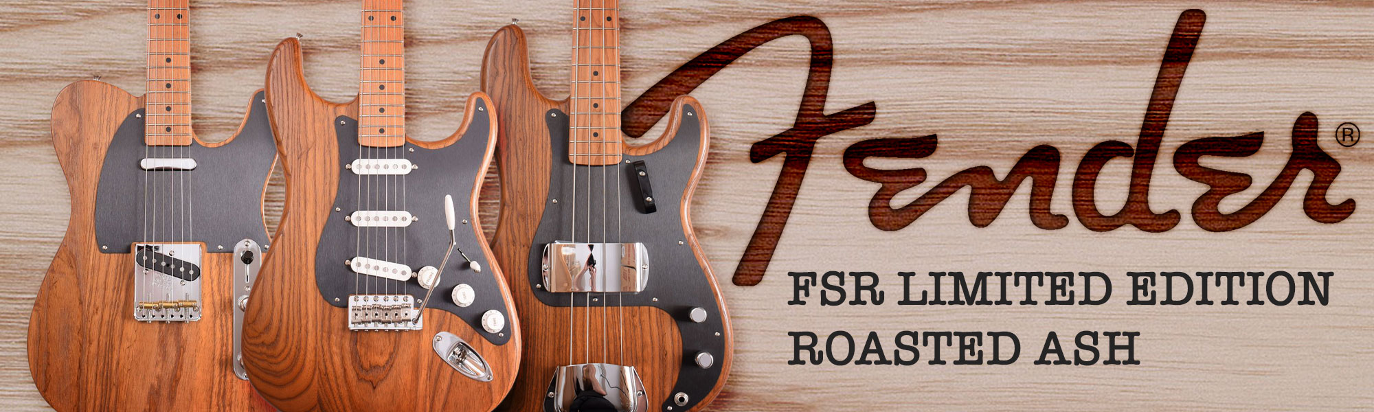 Fender fsr ltd ed roasted ash