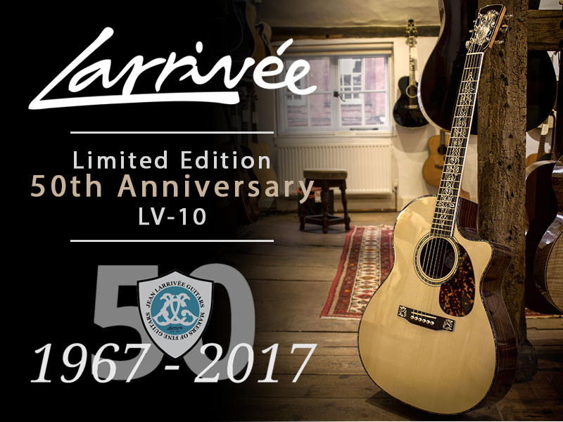 GUITAR OF THE MONTH: Larrivée 50th Anniversary LV-10 image