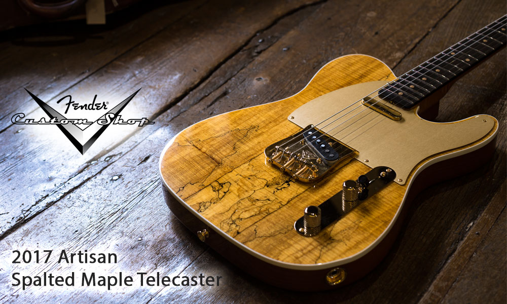 Gotm fender custom shop artisan spalted tele hp