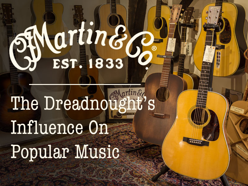 C.F. Martin & Co. – The Dreadnought's Influence On Popular Music image