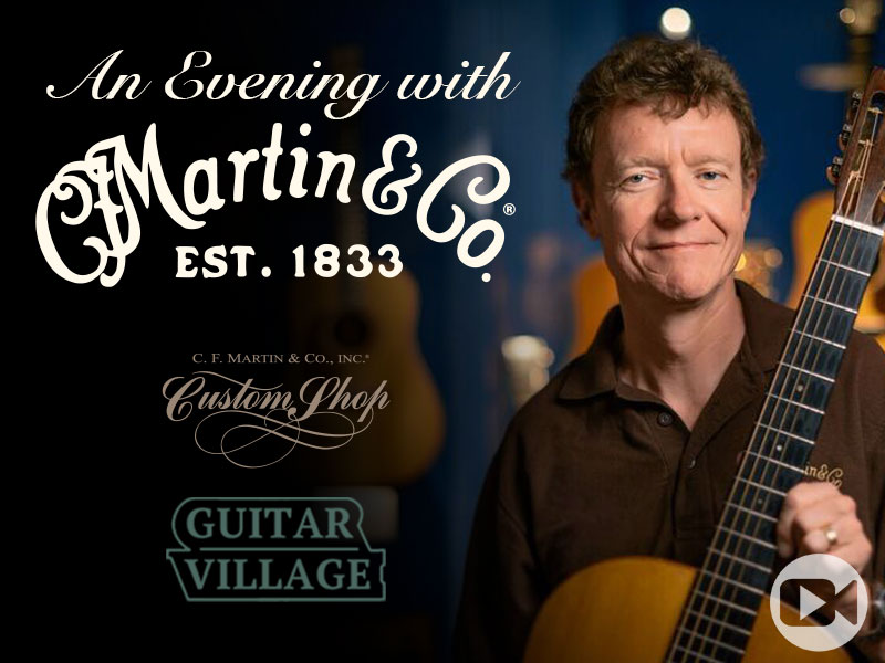 An Evening with Martin Guitars image