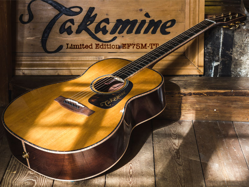 GUITAR OF THE MONTH: Takamine Limited Edition EF75M-TT image