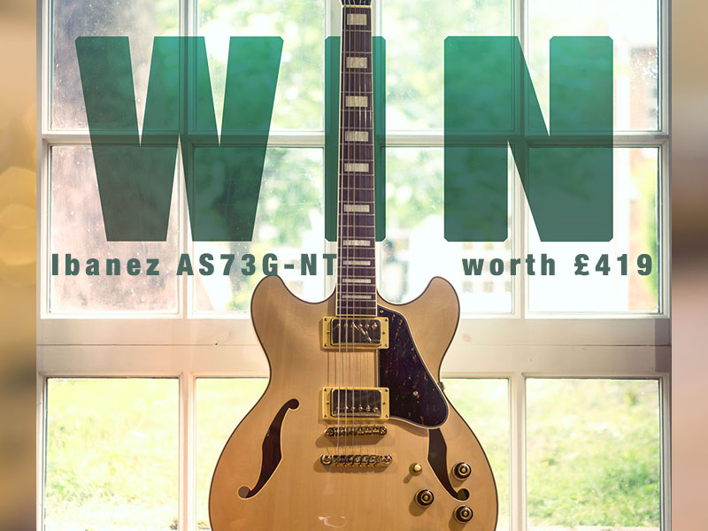 WIN AN IBANEZ SEMI-HOLLOW THIS SUMMER image