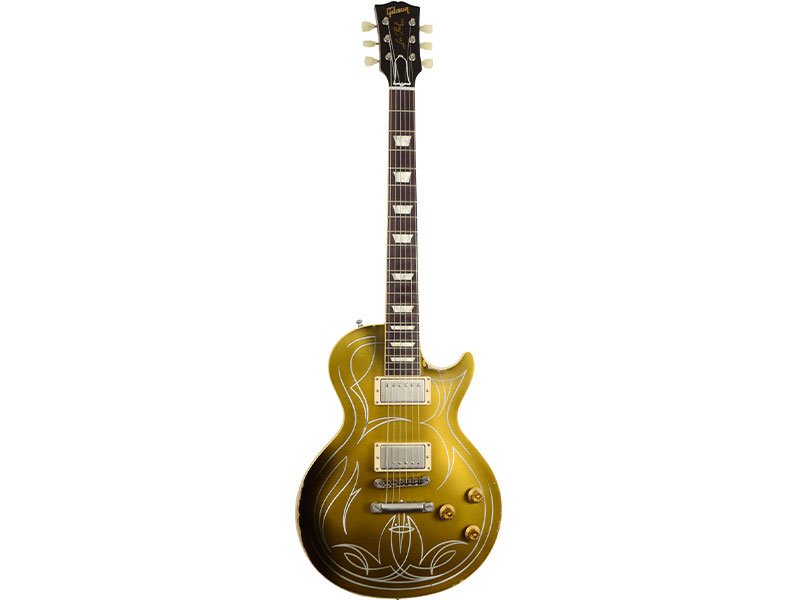 Billy Gibbons Les Paul 1957 Aged Goldtop image
