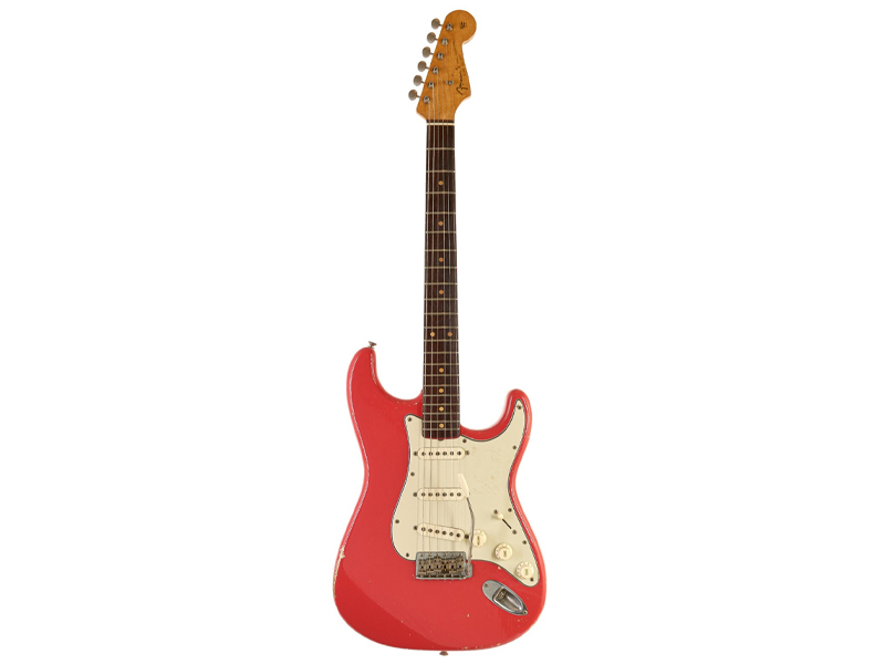 Stratocaster Fiesta Red 1962 image