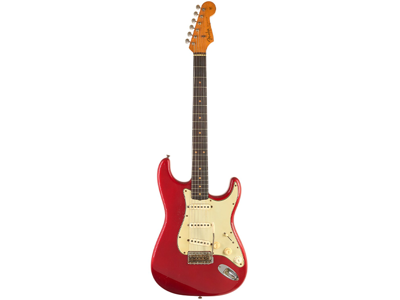 Fender Stratocaster Candy Apple Red 1962 image