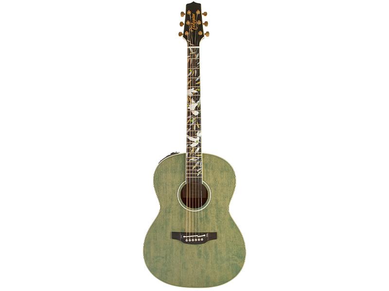 Takamine 2020 Limited Edition Peace Green Tea Gloss image