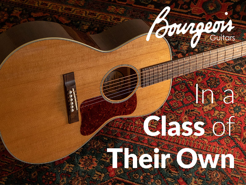 Bourgeois Guitars: In a Class of Their Own image