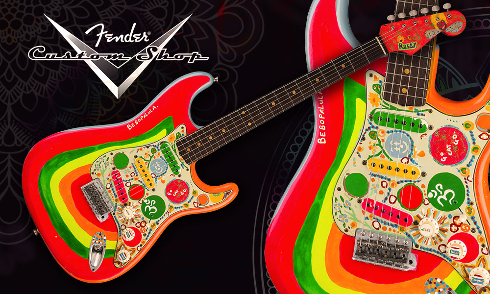 Fender custom shop rocky strat hpsmall