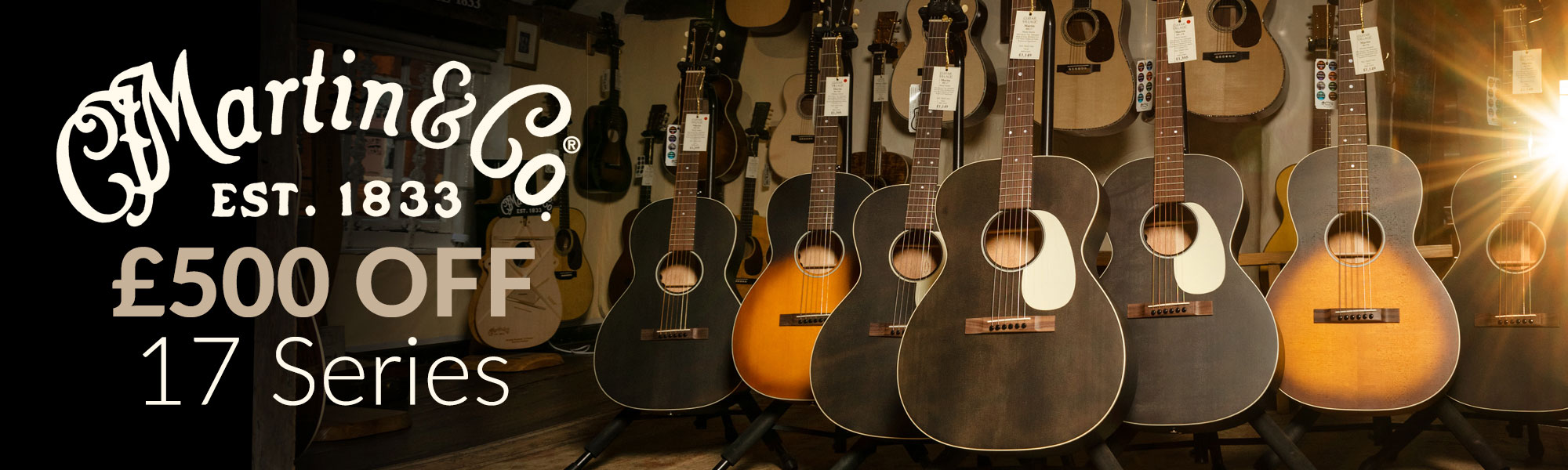 Guitar shop UK | Over 1,000 guitars in stock